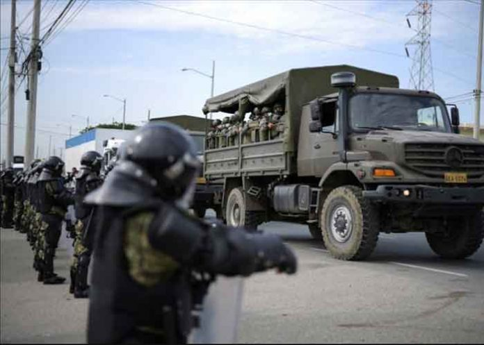 Ecuador prison riots 23July21