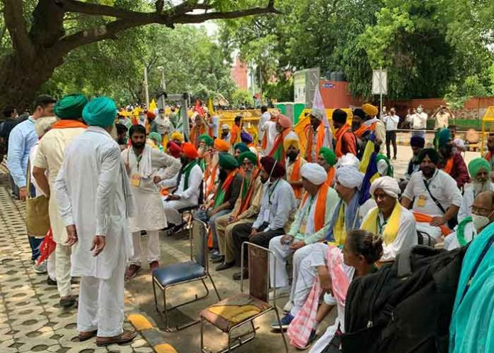 Farmers Parliament Delhi