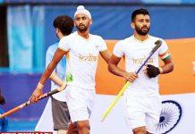 Indian Hockey LPU students