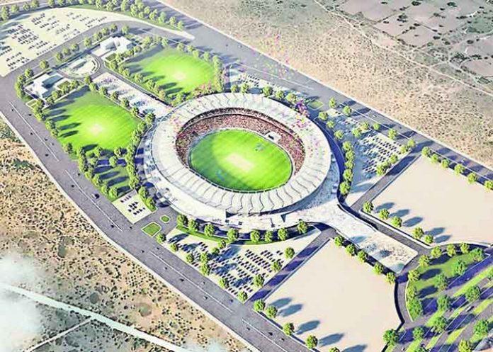Jaipur Cricket Stadium Design
