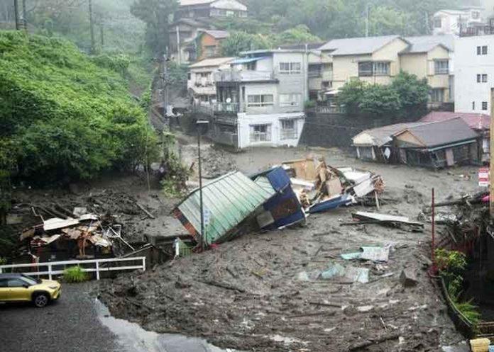 Japan landslide 3July21