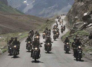 Kargil War Memorial bike rally reaches Drass