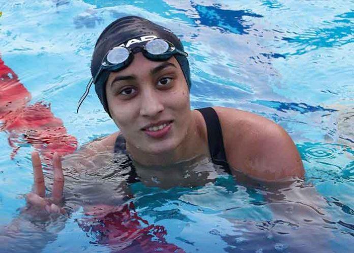 Maana Patel swimmer