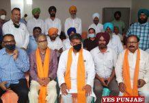 Manish Tewari New Chandigarh Welfare Society meeting