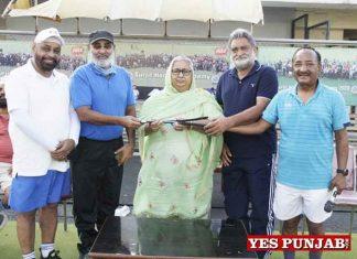 Manpreet Singh mother Manjit Kaur joins Punjabis bestwishes