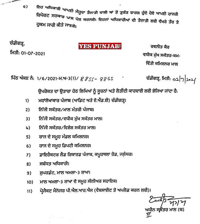Naib Tehsildars promoted 3Jul21 2