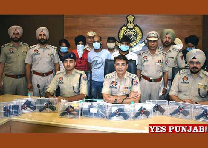 Navjot Singh Mahal Arms Smuggling Busted PC