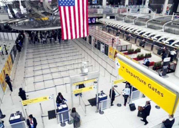 New York JKF Airport US