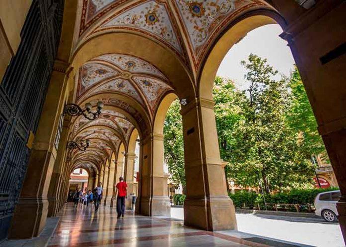 Porticoes of Bologna Italy