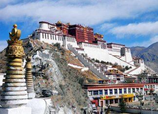 Potala Palace Lhasa China