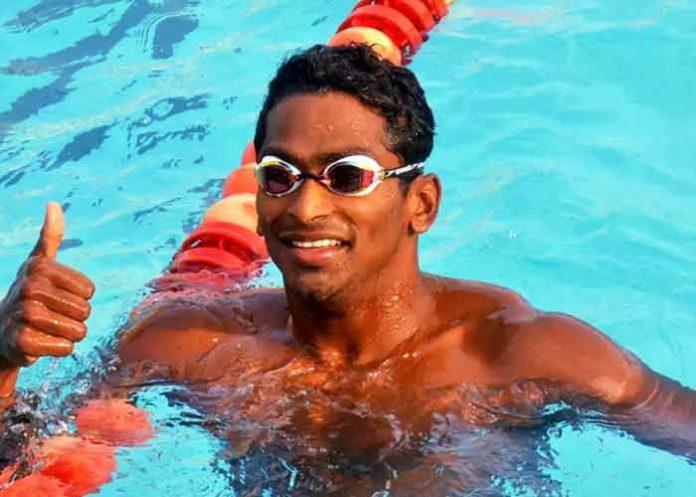 Sajan Prakash Swimmer