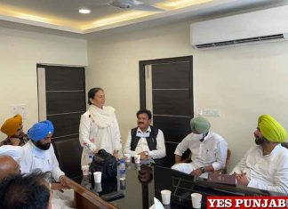 Sidhu meeting with Dalit MLAs Workers 1