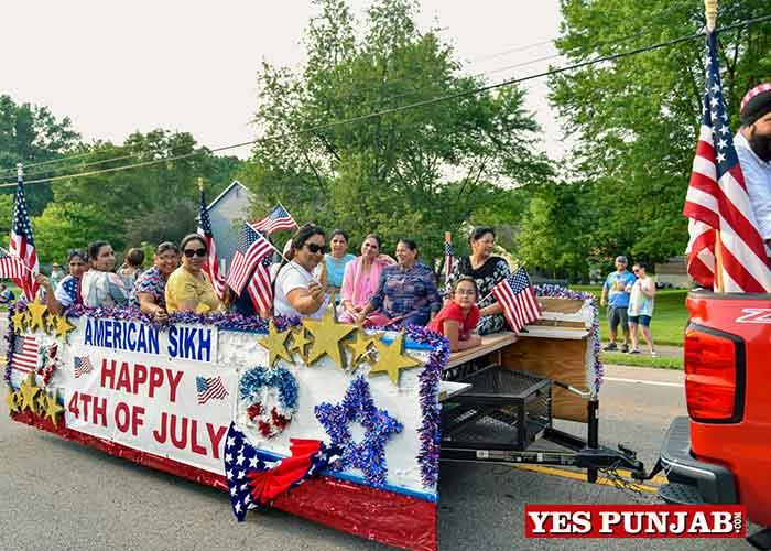Sikhs during American Ind Day Parade Dayton 2