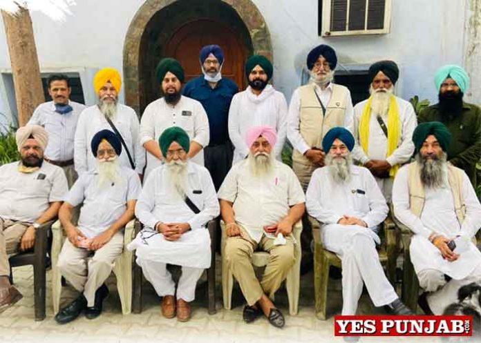 Simranjit Singh Mann SAD Amritsar meeting