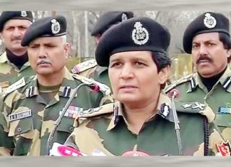 Sonali Mishra IPS BSF