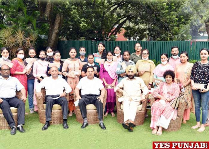 Soni hands over Appointment Letters Staff Nurses Paramedical Technicians