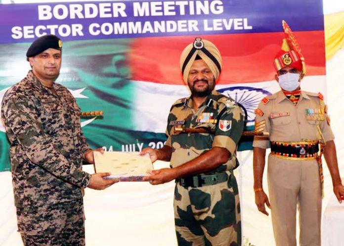 Surjit Singh DIG BSF drone activity