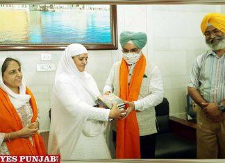 Taranjit Singh Sandhu meet Jagir Kaur