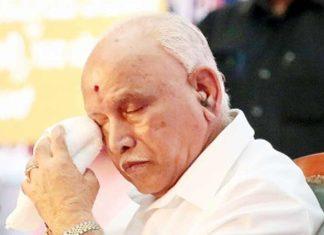 Yediyurappa tears Karnataka BJP