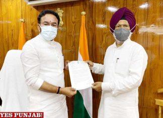Amar Singh meet G Krishan Reddy