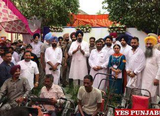 Bikram Majithia SOI Medical Camp Nabha