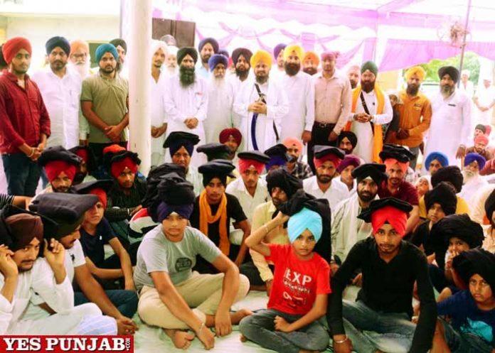 Giani Harpreet Singh turbans Gurmat events