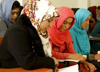 Girl Students in Afghanistan
