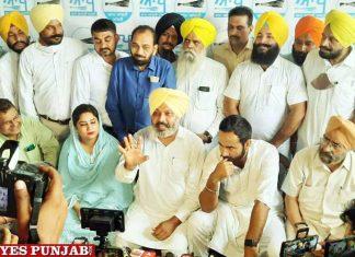 Harpal Cheema Meet Hayer Rupinder Ruppy press conference