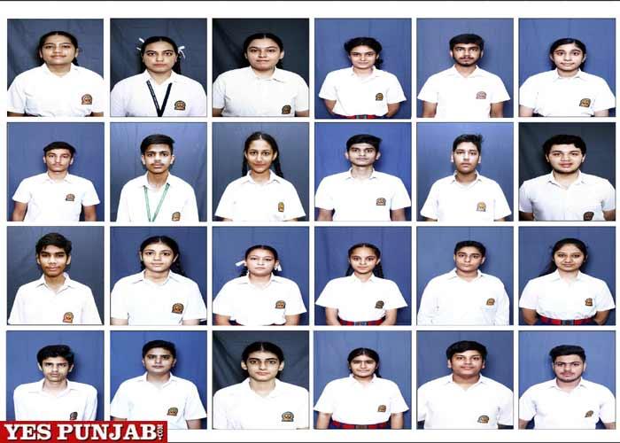 Innocent Hearts Students Jalandhar CBSE X result 2