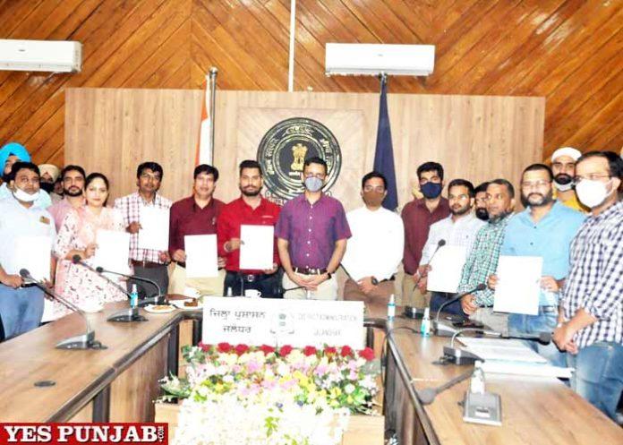 Jalandhar Officials Appreciation Letters COVID Management