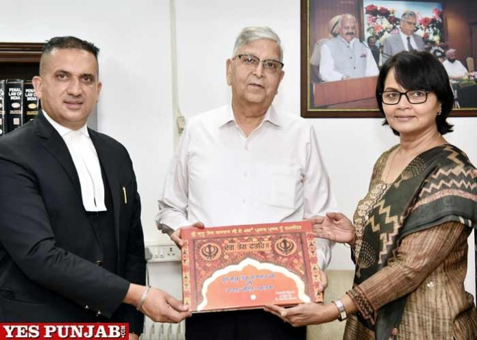 Justice Vinod K Sharma Coffee Table Book