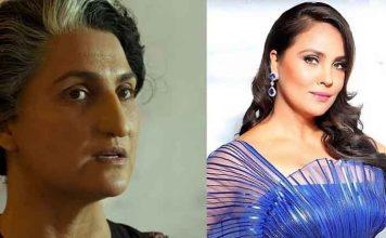 Lara Dutta as Indira Gandhi BellBottom