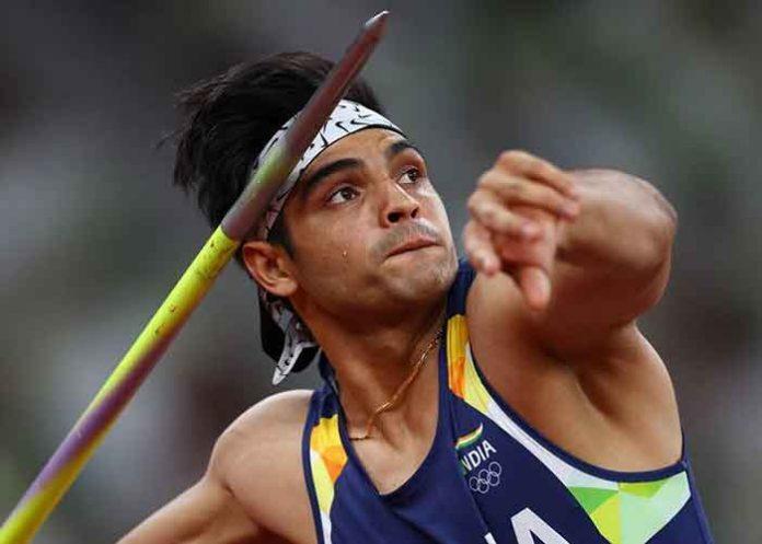 Neeraj Chopra Gold