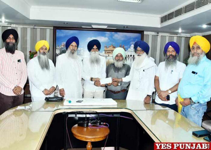 SGPC provides aid Gurdwara Guru Nanak Darbar Shillong