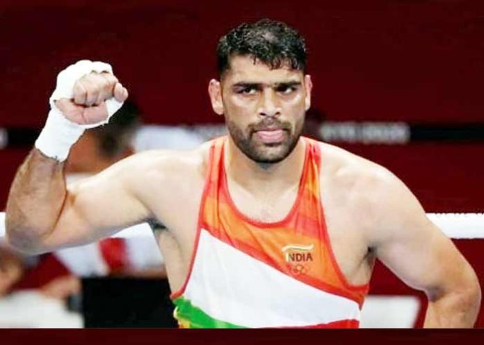 Satish Kumar India Boxer