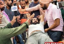 Surinder Pal ETT Teacher end protest 1