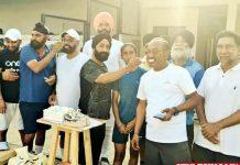 Surjeet Hockey Society celebrate Hockey team win
