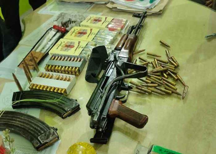 AK 47 rifle seized in Bihar