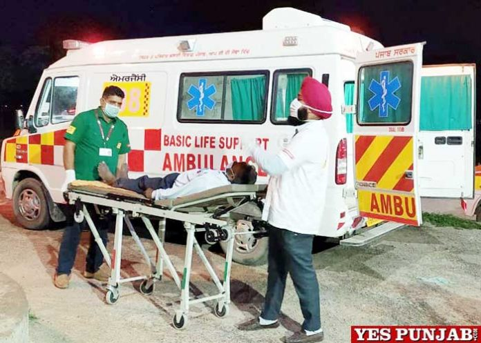 Accident Victims Ambulance Road Mishaps