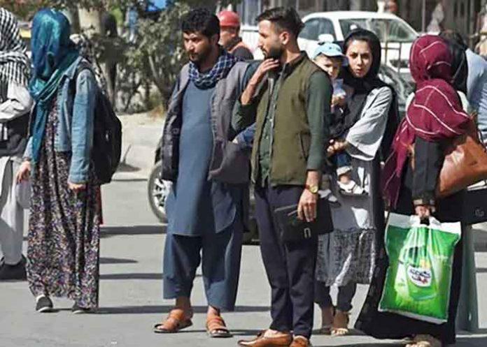 Afghans Fleeing
