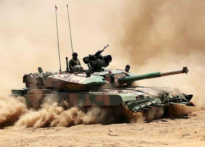 Arjun Mk 1A Main Battle Tanks