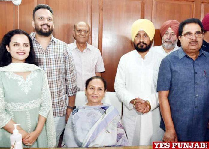 Aruna Chaudhary Channi OP Soni