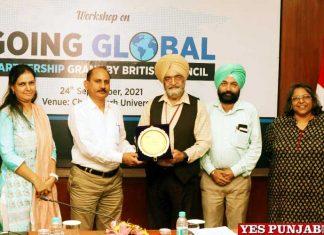 British Council organizes workshop at Chandigarh