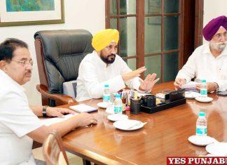 Channi Cabinet first meeting Randhawa Soni