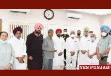 Charanjit Channi meet Pb Governor