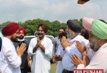 Charanjit Channi welcomed at MRSPTU