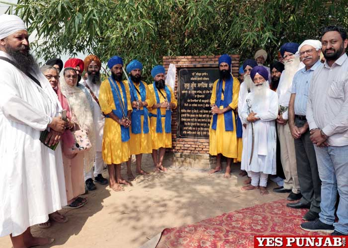 EcoSikh and Petals inaugurate Guru Granth Sahib Bagh