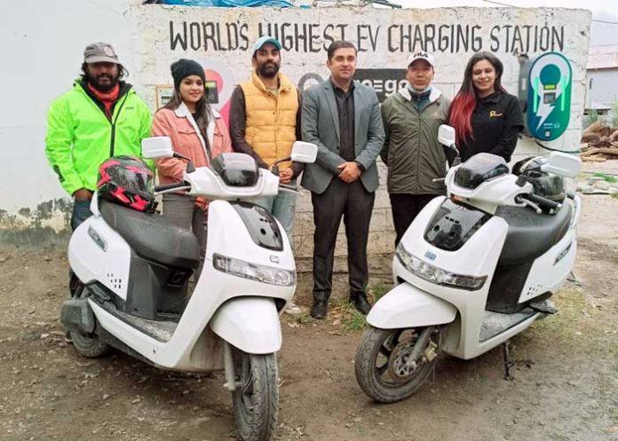 Highest EV Charging Station Himachal