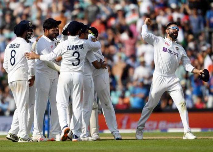 India wins England