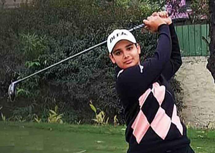 Jahanvi Bakshi Golf